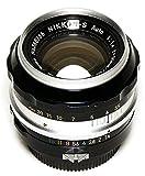 NIKON Nippon Kogaku Nikkor-S NAI 50mm F/1.4 Manual Focus F Mount Bright Prime Lens Full Frame or APS-C + Tiffen Filter