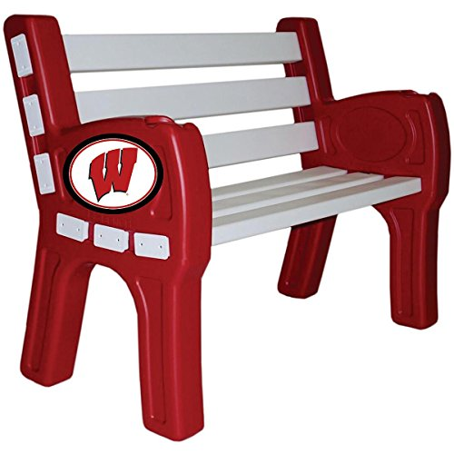 Imperial INTERNATIONAL WISCONSIN BADGERS PARK BENCH by Imperial