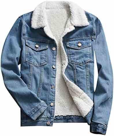 7fdc60c65549d XILALU Vintage Denim Jacket for Women