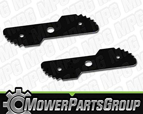 P573 (2) Edger Blades 7-3/4`` x 2-3/4`` Black & Decker LE750 Edge Hog 243801-00 (Decker Edger Hog)