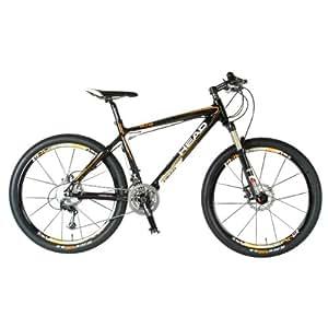 Head Elite Mountain Bike (26-Inch Wheels, 16-Inch Frame, Carbon/White)