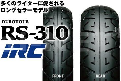 IRC[井上ゴム] RS310 90/90-18 110/90-18 フロントタイヤ リアタイヤ 前後セット 【チューブタイヤ】 3353-3357