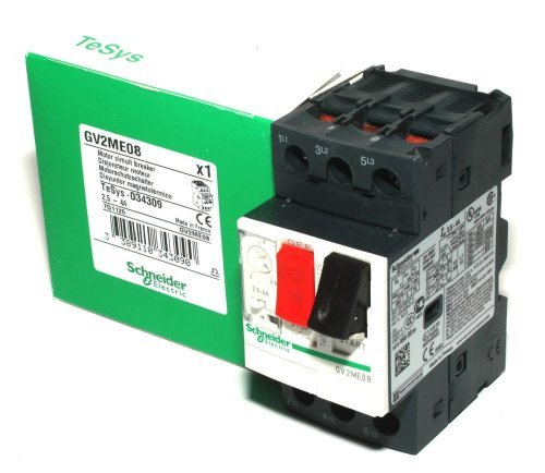 GV2ME08 Motor Circuit Breaker Schneider Electric by (Telemecanique Circuit Breaker)