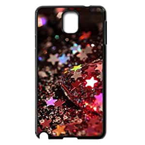 Custom Cover Case with Hard Shell Protection for Samsung Galaxy Note 3 N9000 case with Brilliant stars lxa#464175 by icecream design