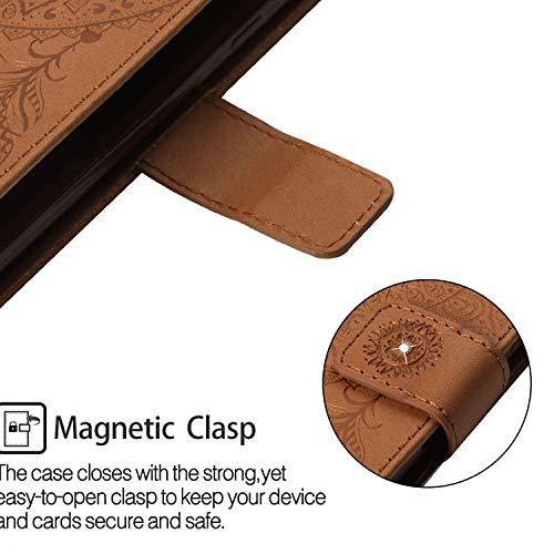 Housse Note Galaxy Point Portefeuille point Rouge Premium De Case 9 Samsung Forage Bellflower Coque Diamants En Pour Bonroy Brown Cuir Etui 9 Flip xSwXt4t