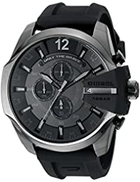 Men's DZ4378 Mega Chief Black Silicone Watch