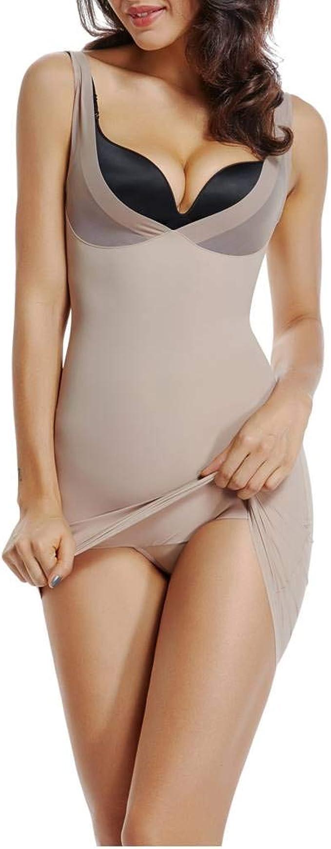 New Women Slimming Underwear Slip Dress Shapewear Camisole