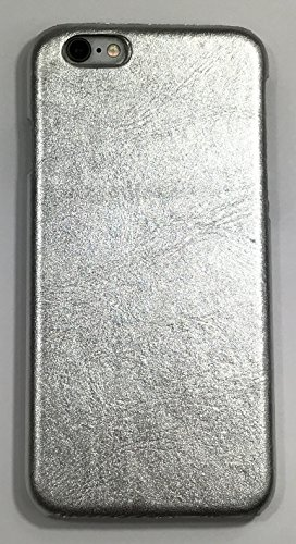 iPhone 6 / iPhone 6s Case - Restoration Hardware - Metallic Leather Hard Shell Case (Silver) - Metallic Hardware
