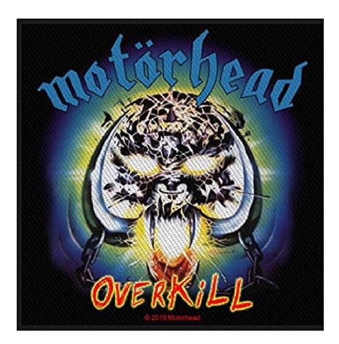 [해외]모터 헤드 잔인 함 공식 패치 (10cm x 10cm)/Motorhead Overkill Official Patch (10cm x 10cm)