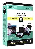 Greenco Vacuum seal, Space Saver Storage Bags - Variety (Medium, Large)- 6 pack