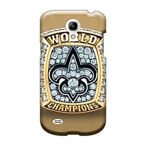 Casesbest88 Samsung Galaxy S4 Mini Protector Hard Cell-phone Cases Provide Private Custom Attractive New Orleans Saints Pictures [grs1162wsCQ]