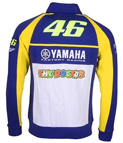 Valentino Rossi VR46 Yamaha Sweater Chaqueta, Royal Blue ...