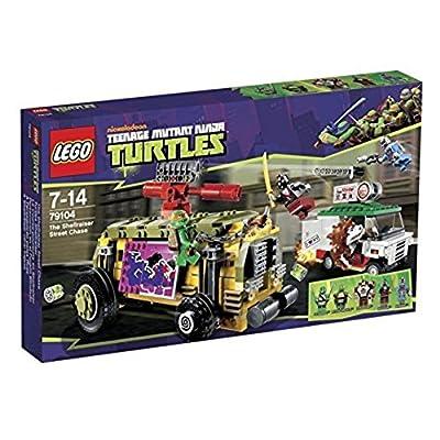 LEGO Teenage Mutant Ninja Turtles - The Shellraiser Street Chase (79104): Toys & Games