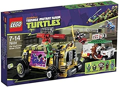 LEGO Teenage Mutant Ninja Turtles - The Shellraiser Street Chase (79104)