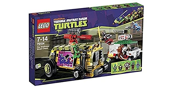 Amazon.com: LEGO Teenage Mutant Ninja Turtles – La Calle ...