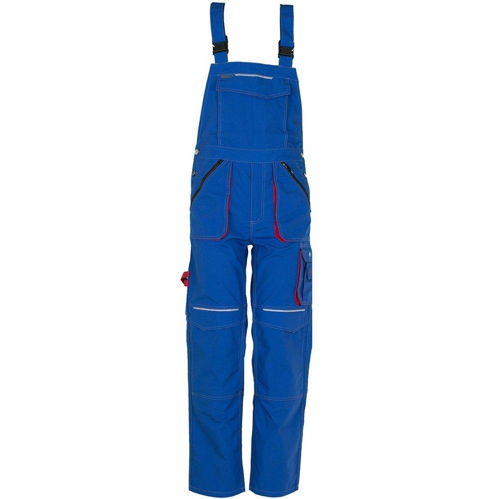 Basalt Arbeitskleidung Latzhose kornblau rot B00I9I41SW Arbeitshosen Ausgezeichnetes Handwerk