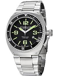 Stuhrling Original Men's Nautical Regatta Dsv Swiss Quartz Diver Date Watch 410.331171