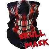 Windproof Seamless Skull Face Mask Bandana for