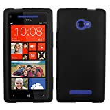 Asmyna HTCWIN8XCASKSO004 Slim and Soft Durable Protective Case for HTC Windows Phone 8X - 1 Pack - Retail Packaging - Black