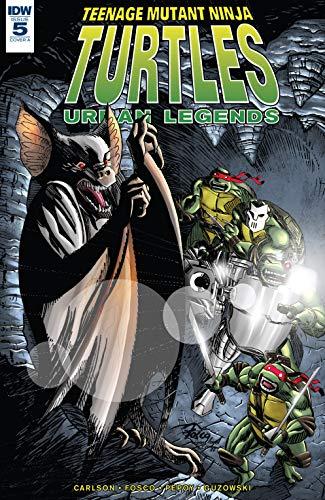 Amazon.com: Teenage Mutant Ninja Turtles: Urban Legends #5 ...