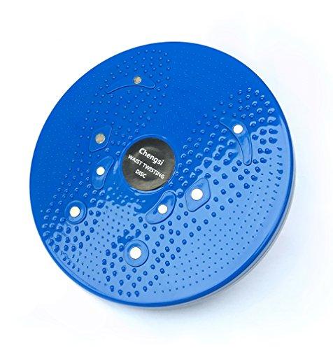 Waist Twisting Disc Figure Trimmer Fitness Board-(Blue) - 3