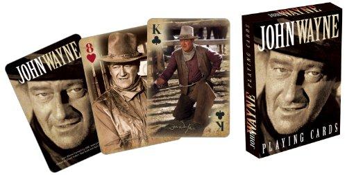 Sunset Linen - Aquarius John Wayne Playing Cards