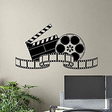 yiyiyaya Cine Etiqueta de la Pared Película Película Cinta ...