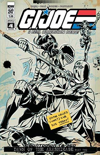 - IDW Artists Edition Limited Edition Variant Cover Lot of 6 GI Joe Star Trek TMNT