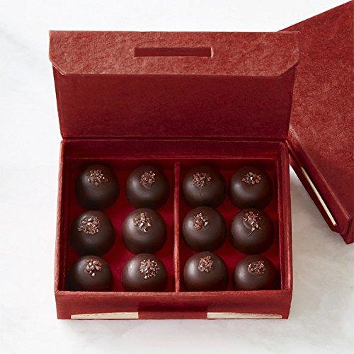 Knipschildt Caramel Sea Salt Collection, Set of 12 by Knipschildt Chocolates (Image #1)