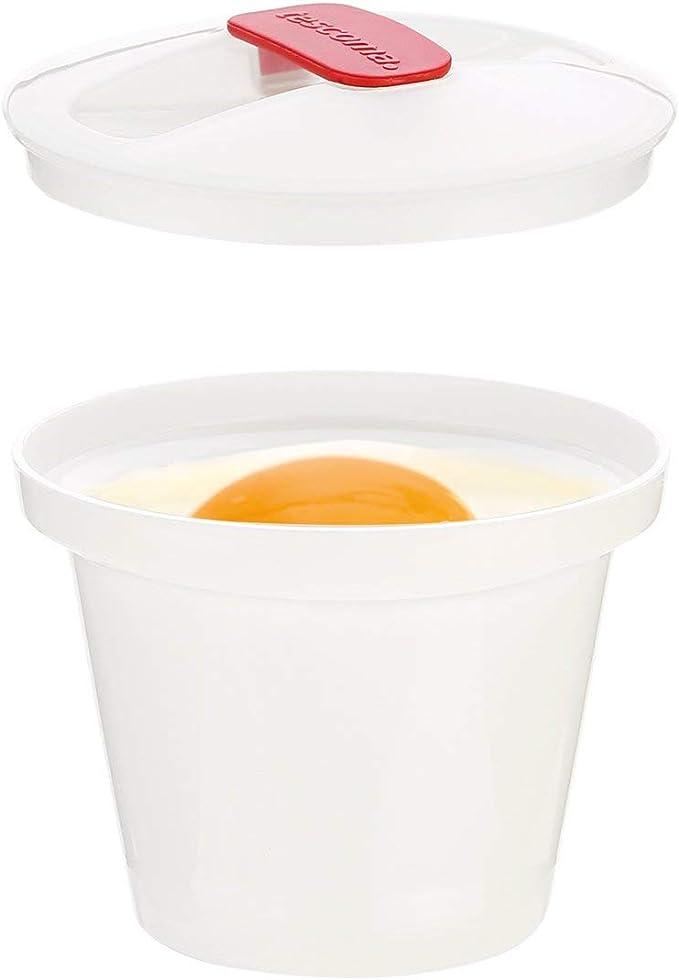 Tescoma Recipiente para Cocer Huevos Purity Microwave, Blanco ...