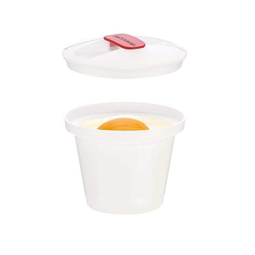 Tescoma Recipiente para COCER Huevos Purity Microwave,2PZS, Blanco ...