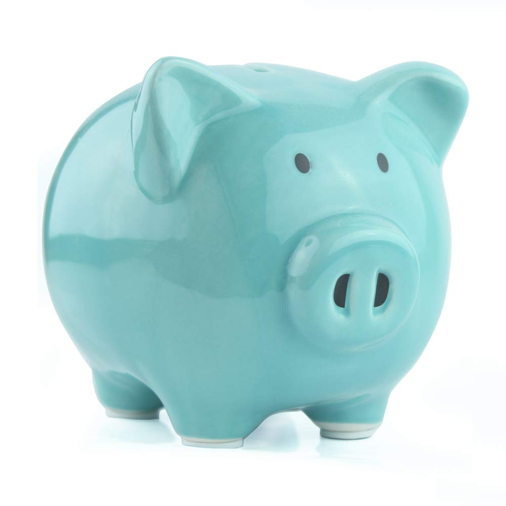 KOHIENWO Piggy Bank for Boys,Girls Blue