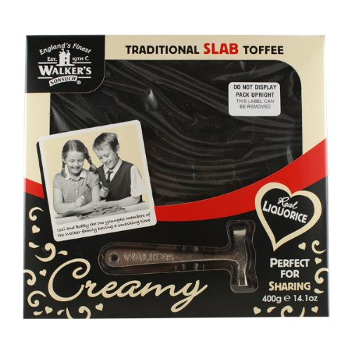 (Walkers Liquorice Toffee Hammer Gift Pack Walker's Liquorice Toffee Hammer Gift Pack - 400G)