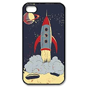 JCCFAN Rocket Phone Case For Iphone 4/4s [Pattern-2]
