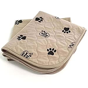 EZwhelp (Value 2-Pack Machine Washable, Reusable Pee Pad/Quilted, Fast Absorbing Dog Whelping Pad/Waterproof Puppy Training Pad/Housebreaking Absorption Pads