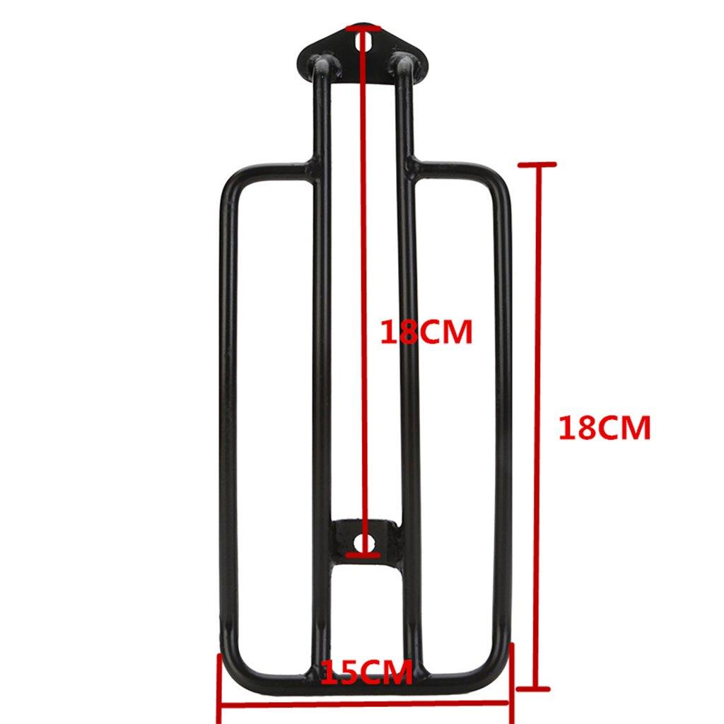 Universal Motorcycle Solo Seat Luggage Rack For Triumph Honda Yamaha Kawasaki Suzuki S, Black