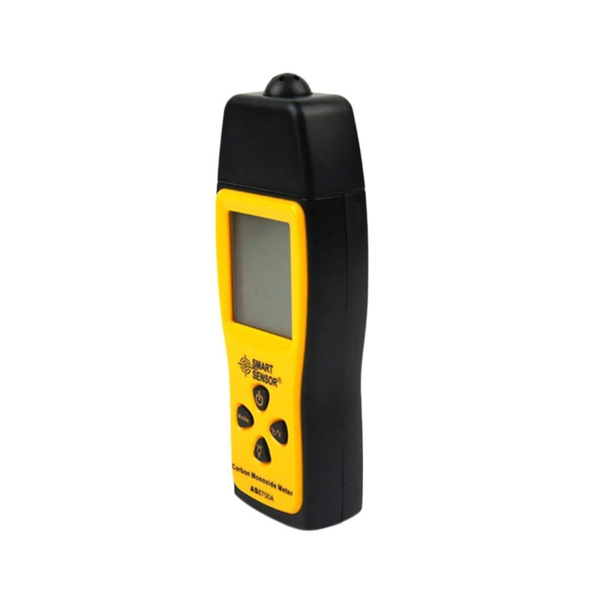 Kongqiabona Elektronische messger/ät LCD Display Kohlenmonoxid Meter mit Hintergrundbeleuchtung Handheld CO Gas Tester Monitor Detektor Analyzer 0 ~ 1000 PPM CO Messger/ät