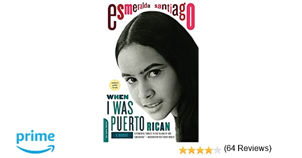 when i was puerto rican review