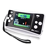"E-MODS GAMING® 8-Bit Retro 2.5"" Portable Handheld Video Game Console Player w/152 Games & Speaker (BLACK)"