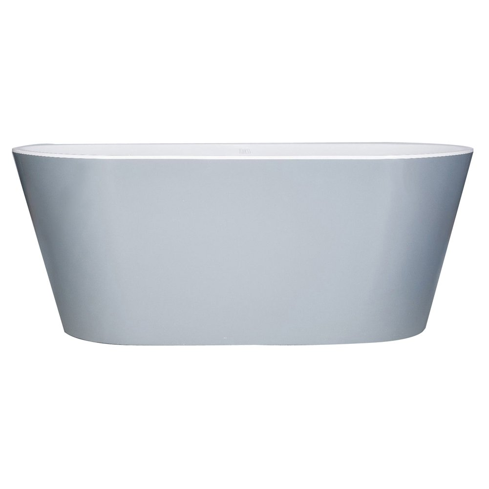 Amazon.com: VEBA 59 inch Freestanding Bathtub, Small Free Standing ...