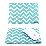 TopCase-Polka-Dot-Design-Green-USB-Optical-Wireless-Mouse-for-Macbook-pro-air-and-All-Laptop-TopCase-Designed-Chevron-Mouse-Pad
