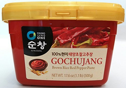Sunchang Hot Pepper Paste Gold (Gochujang) 500g by Chung Jung One (Hot 500 Pepper)