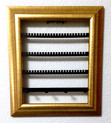 Jewelry picture frame display earring organizer wall for Picture frame organization wall