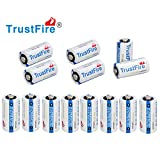 Trustfire Cr123A Batteries Lithium CR 123a 3V Batteries, 14-pack