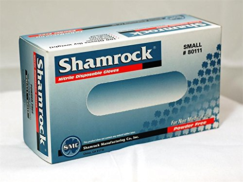 Shamrock 30353 Nitrile Examination Gloves