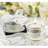 Teacups and Tealights Miniature Porcelain Tealight Holders (pack of 30)