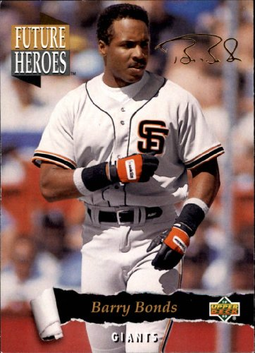 1993 Upper Deck Future Heroes Baseball Card #56 Barry Bonds ()