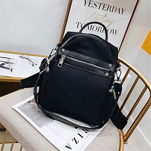 red Semplice Eleganti W21cm Popolare Morbida E Moda Borse Black Superficiale Ypsg Per Cucire Da H27cm Donna T12cm z5wZPxXqO