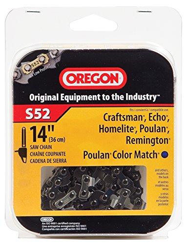 Oregon 14-Inch Chain Saw Chain Fits Craftsman, Echo, Homelite, Poulan, S52