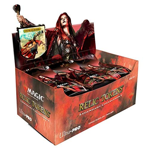 Ultra Pro Magic The Gathering: Relic Tokens Display - Legendary Collection ()